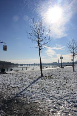 Bordeaux sous neige!!!