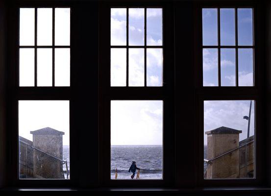 Borkum - Sturmfenster