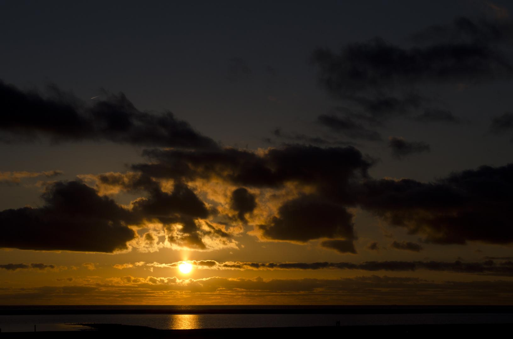 Borkumer Sonnenuntergang