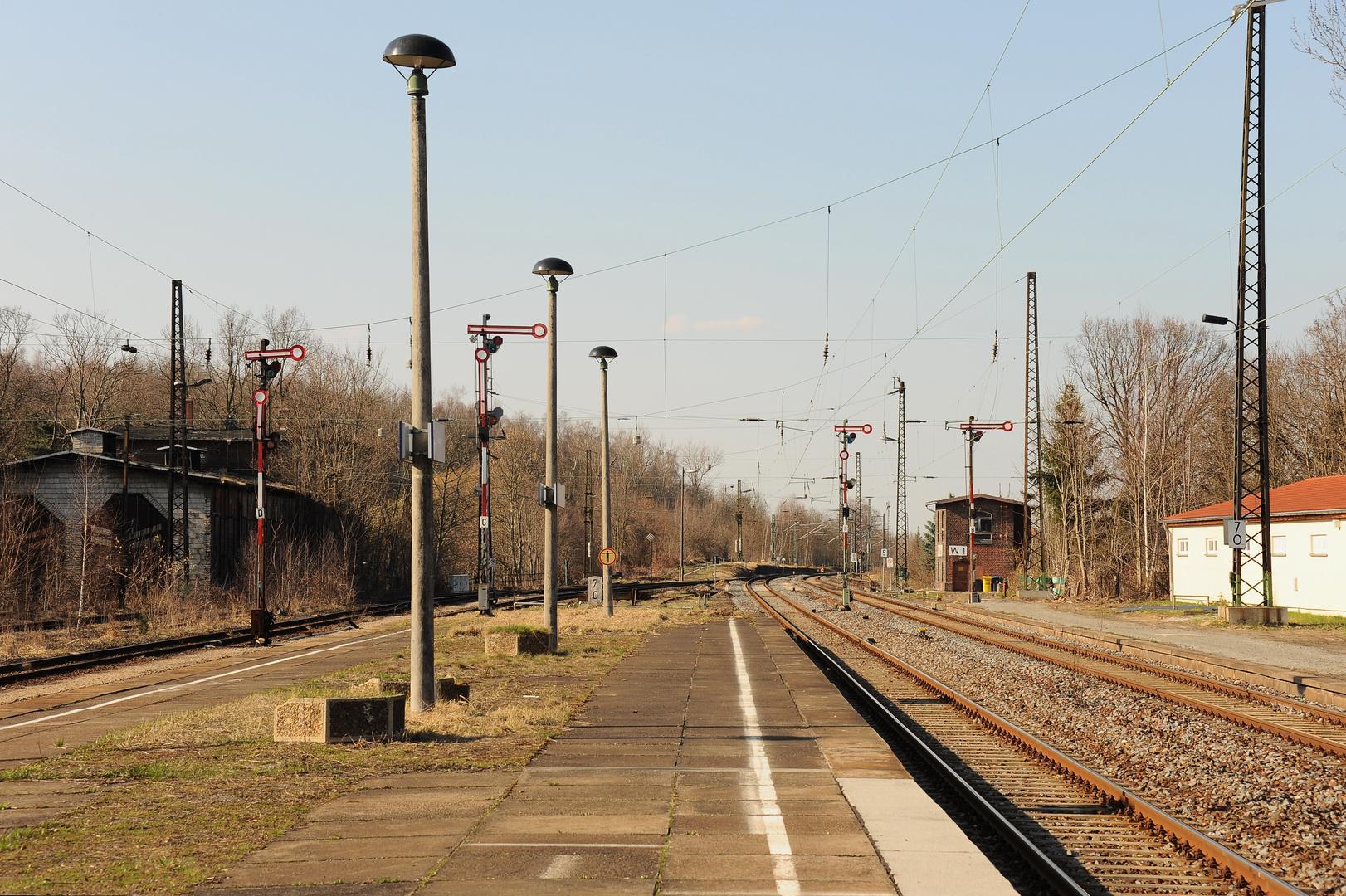 Borna - Bahnsteig 2-3