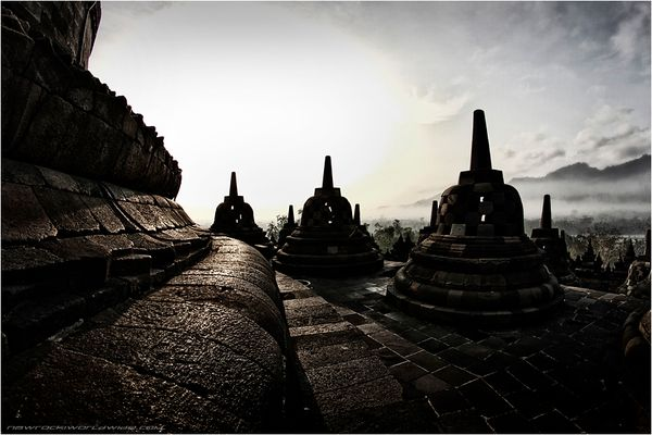 Borobudur Daybreak