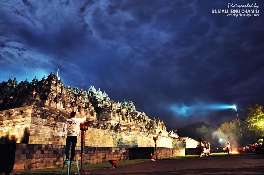 Borobudur Tample Night