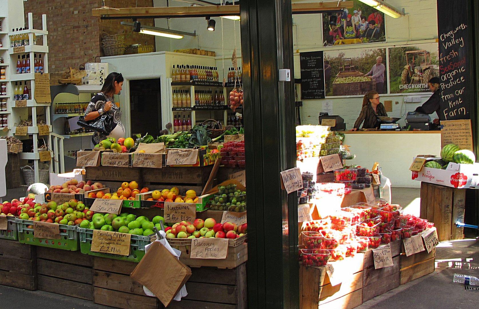 Borough Markt, für mich der beste Markt in London für Lebensmittel