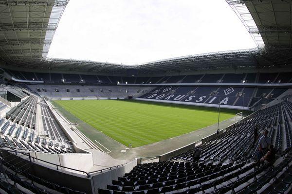 Borussia-Park in Mönchengladbach