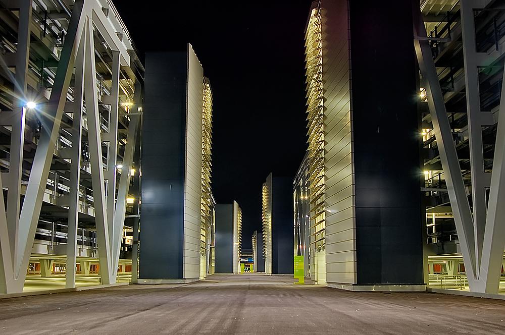 Bosch-Parkhaus Flughafen Stuttgart