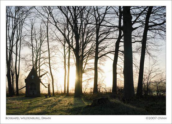 Boskapel Wildenburg, Dawn