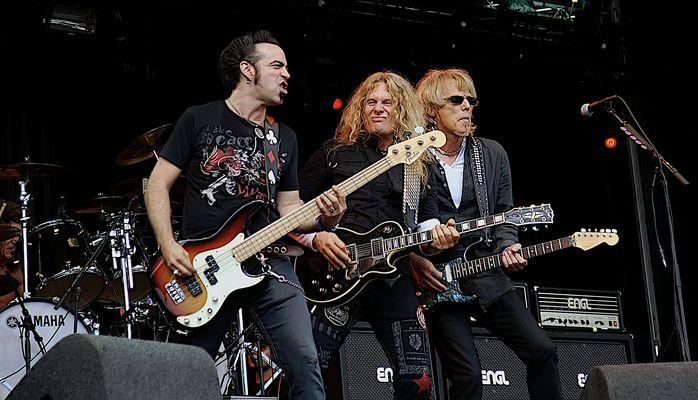 Bospop 2008 - Thin Lizzy
