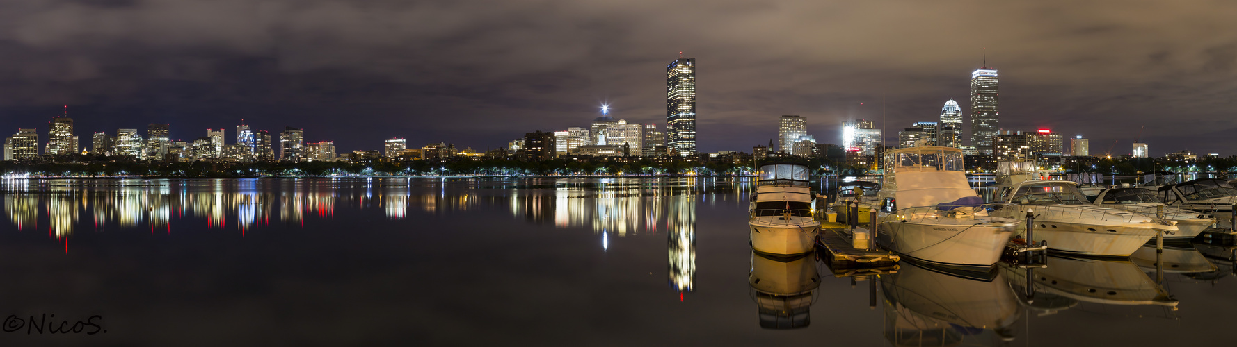 Boston Charles River view