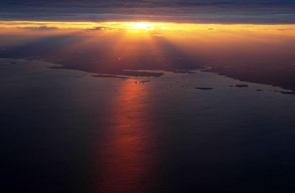 Boston sunset - Bostoner Sonnenuntergang