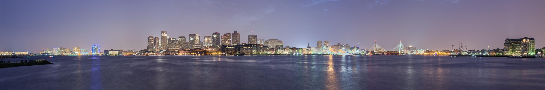 Boston - Twilight Panorama