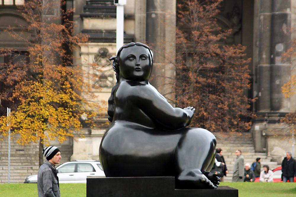 Botero im Berliner Lustgarten