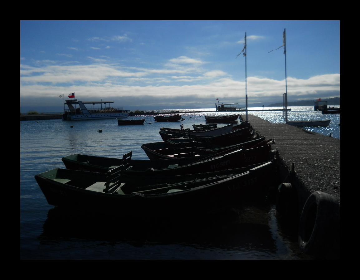 Botes en el lago III