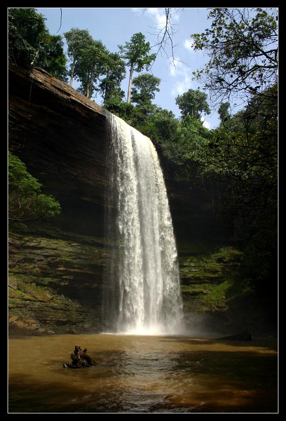 ... Boti Falls, Ghana ...
