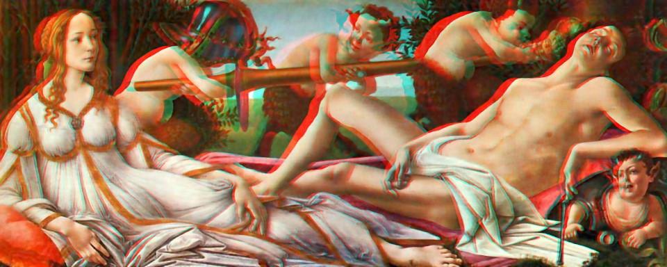 Boticelli: Venus Mars -3D Konversion-