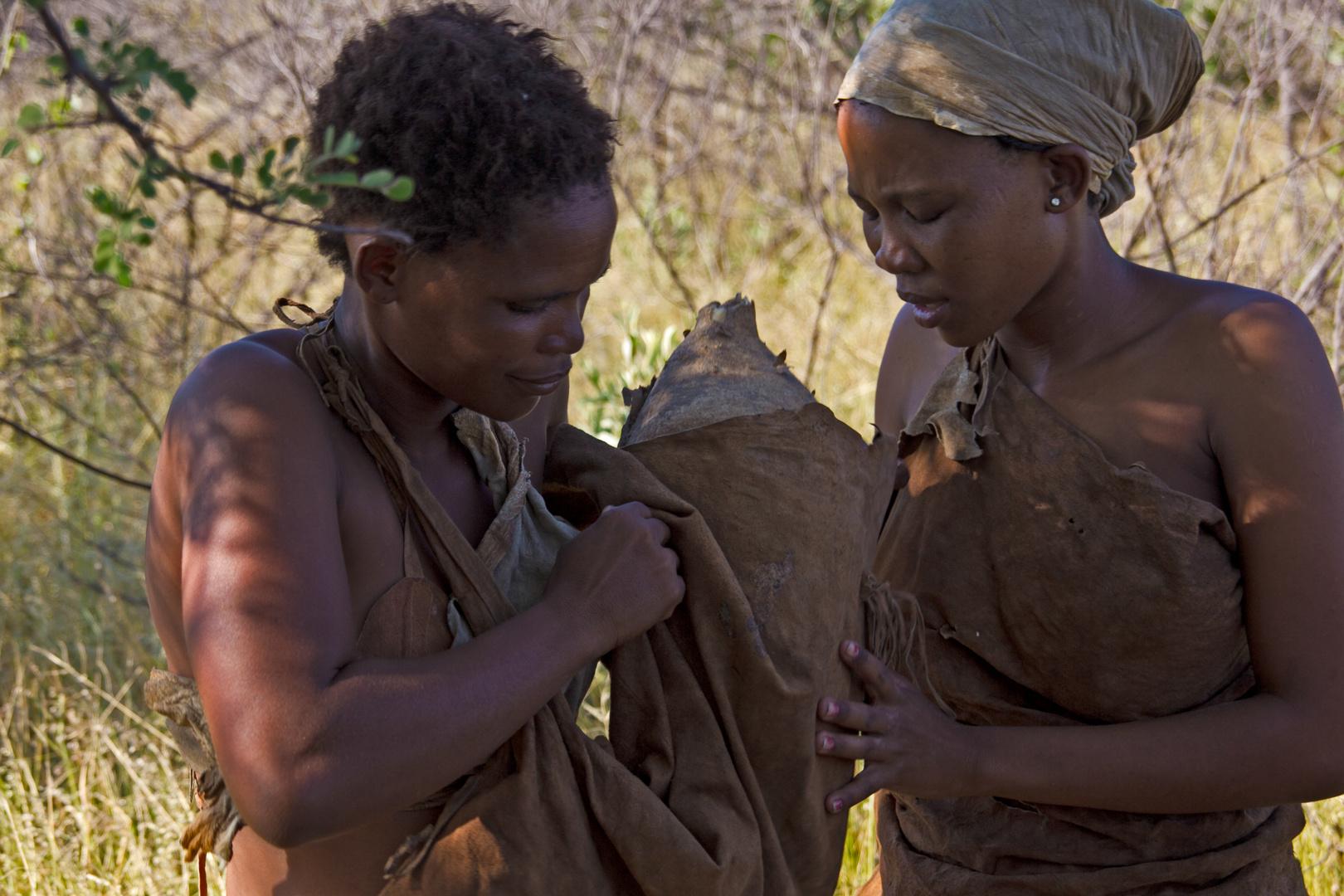 Botswana - Volk der San (1)