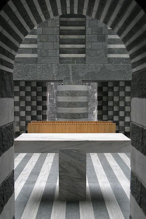 Botta Kirche in Mogno I