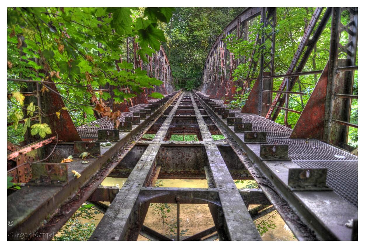 Bottwartalbahn, alte Brücke