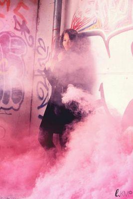 Bouchra Abiry fumée