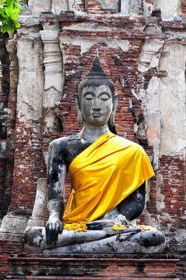 Bouddha drapé