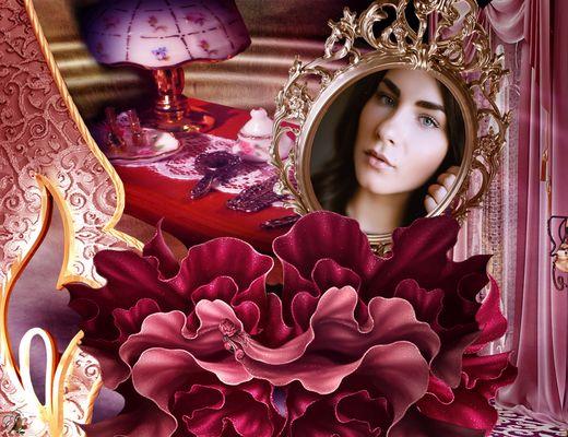 Boudoir einer schönen Frau...