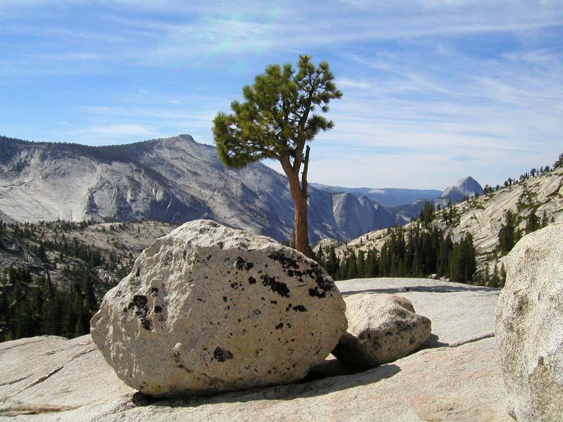 Boulder = Steinbrocken (aus Granit)