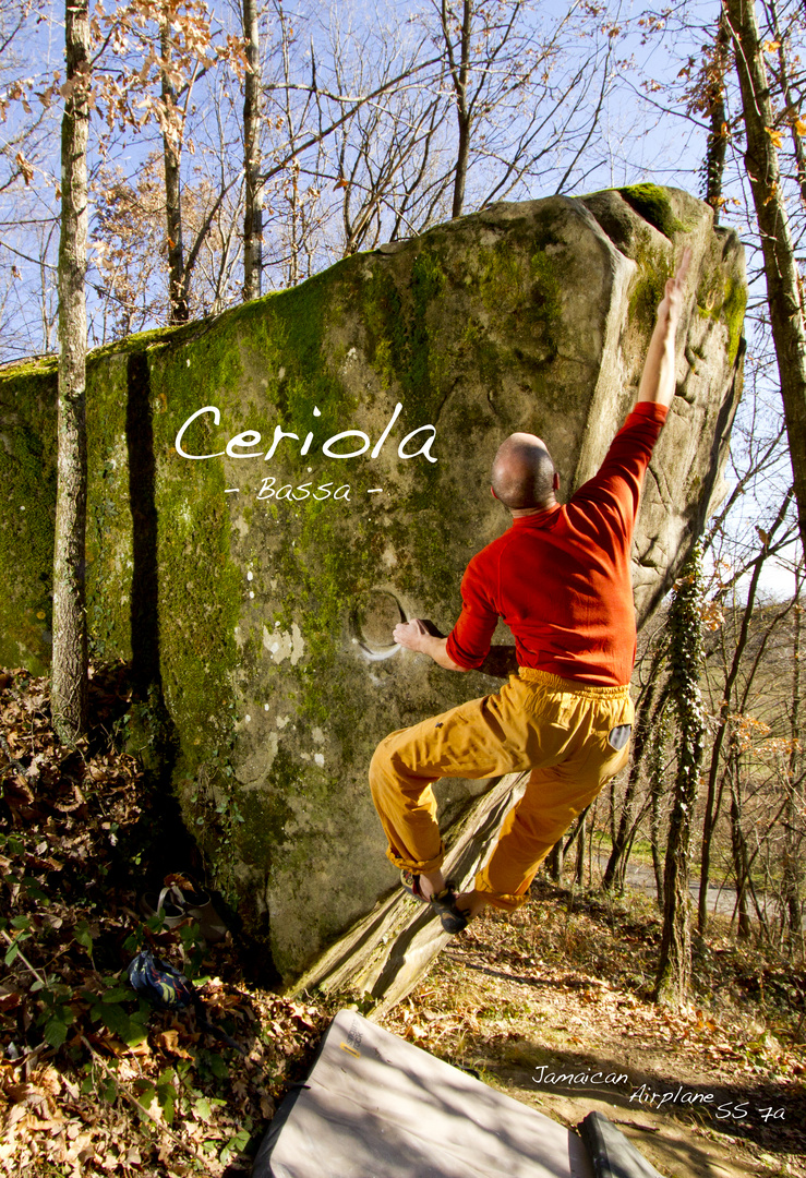 Bouldering in Ceriola