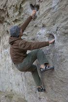 Bouldern bei Minusgraden