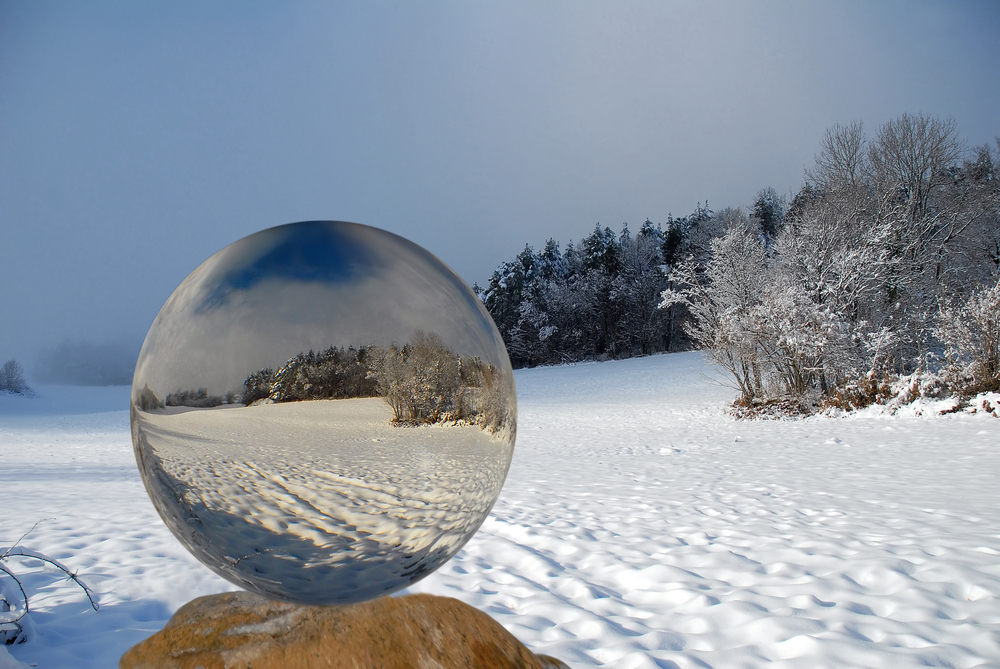 Boule de neige, Schneekugel