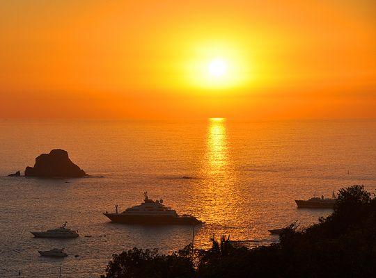 Boule d'or sur Gustavia