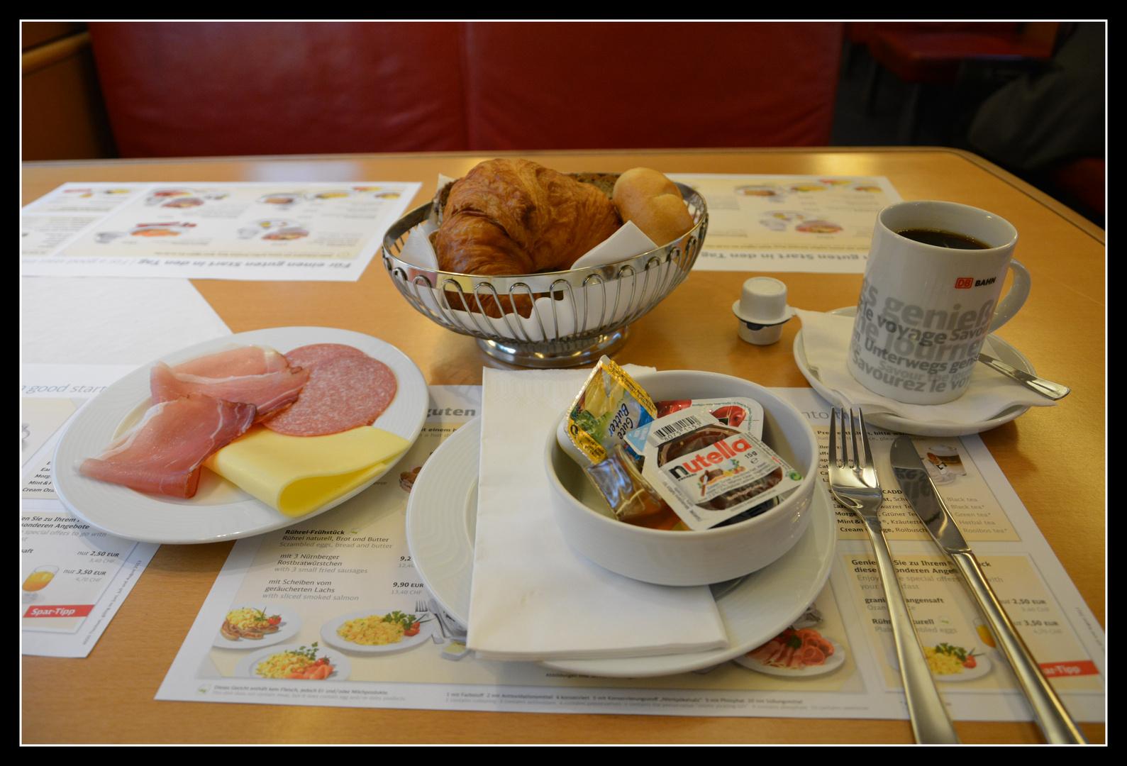 Boulevard-Frühstück