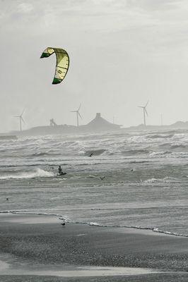 Boulogne vu de Wimereux octobre 2008