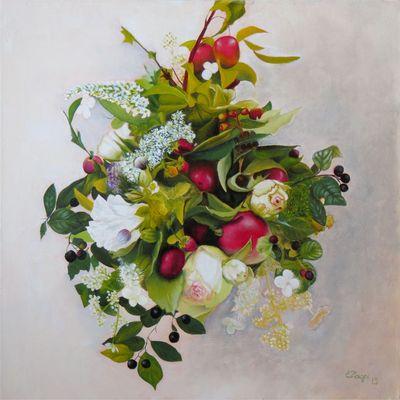 Bouquet de fleurs mariéé