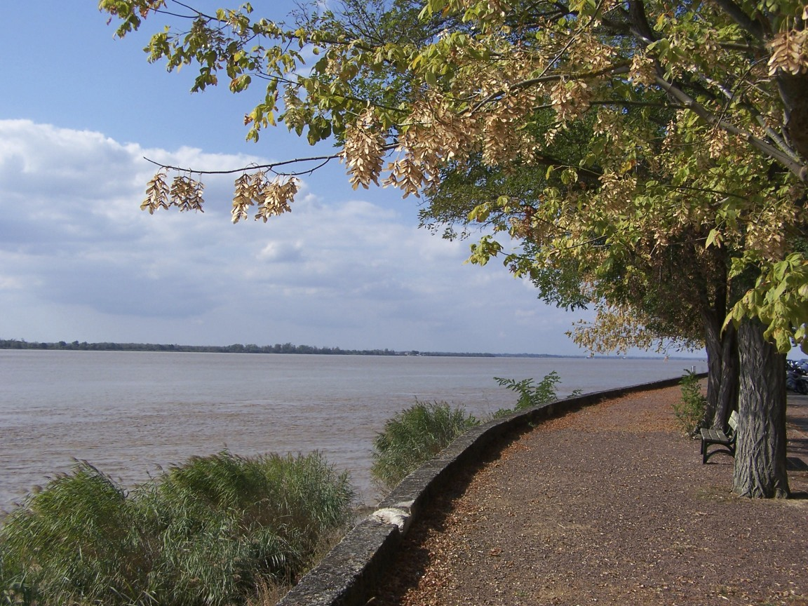 Bourg, la Gironde