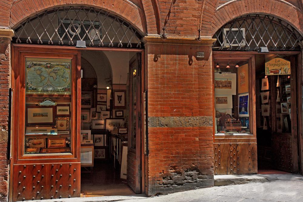 Boutique à Sienne - Toscane