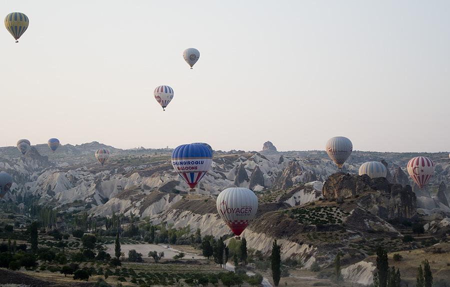 Boven Cappadocië