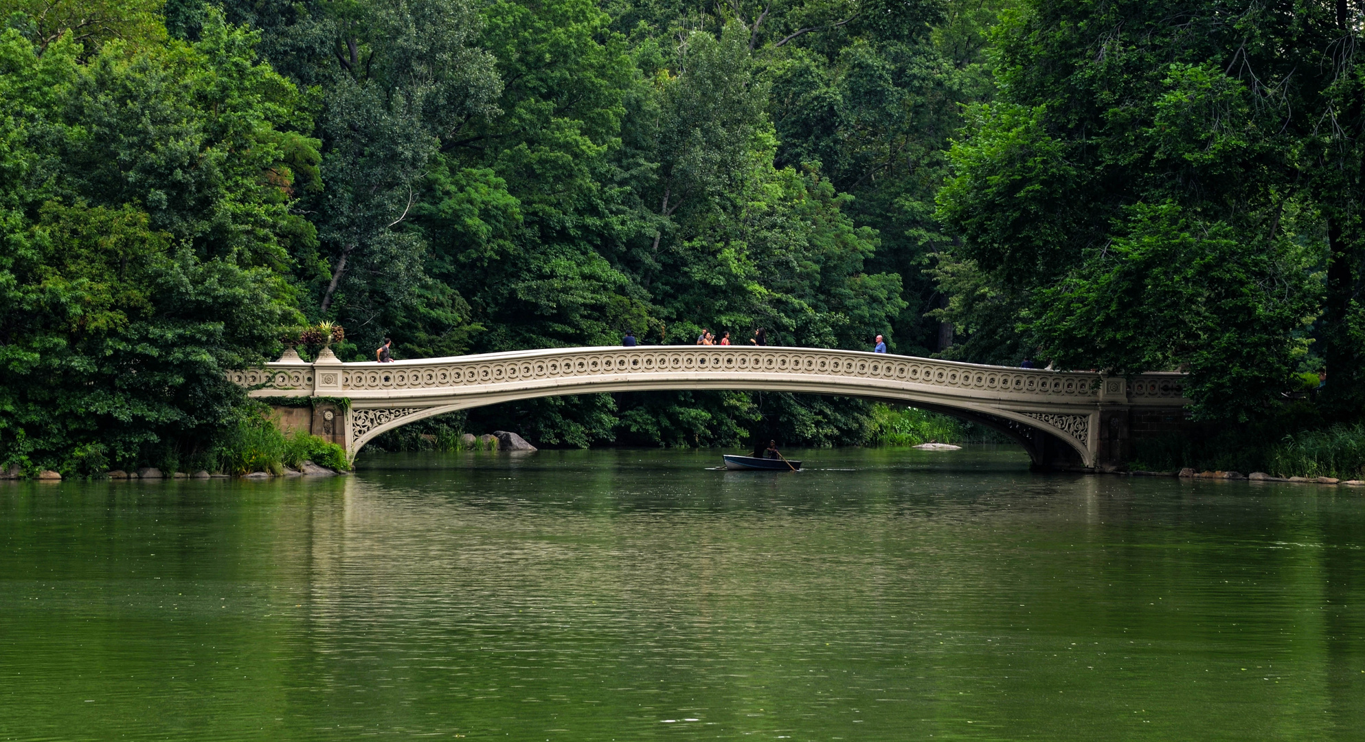 """Bow Bridge"" Central Park NY"