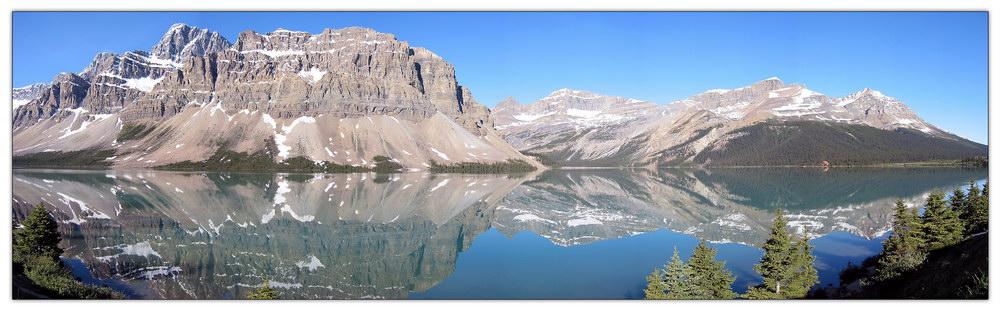 Bow-Lake im Banff Nationalpark
