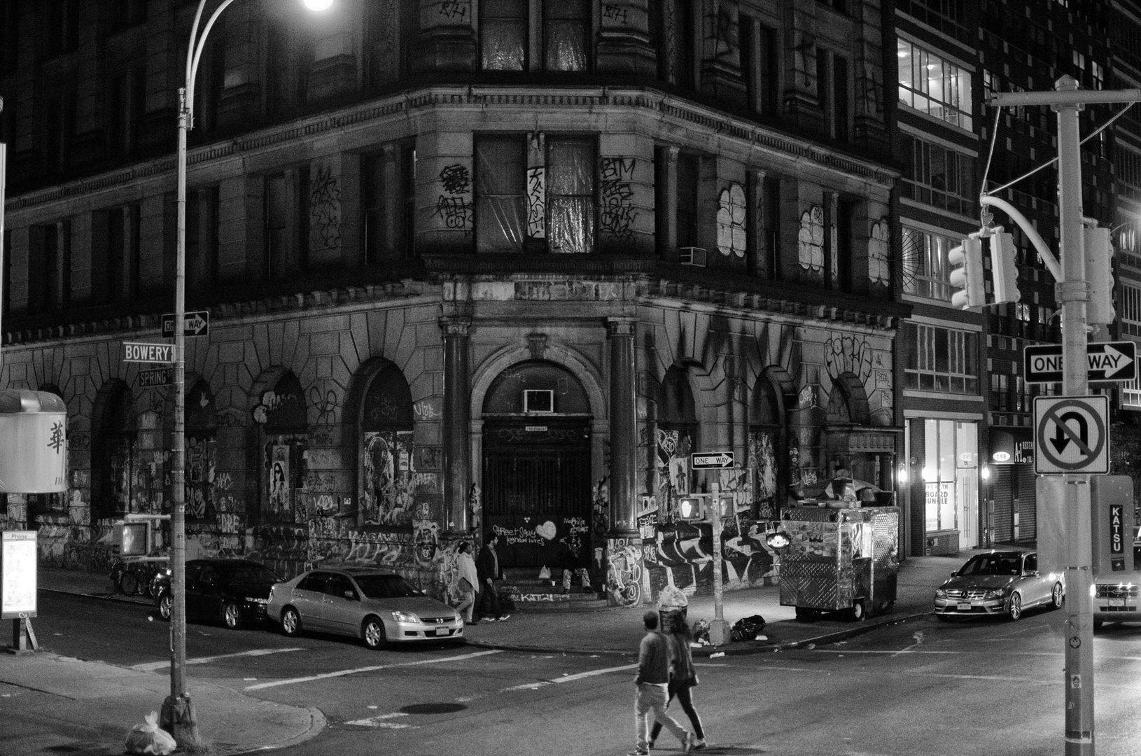 Bowery / Spring St