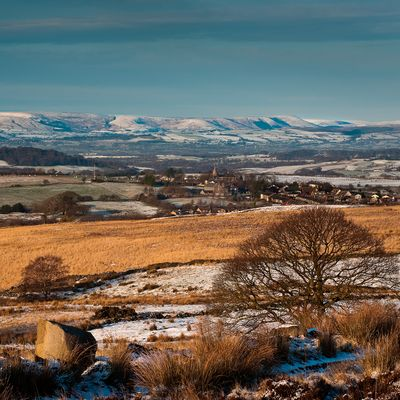 Bowland Fells from Withnell Moor
