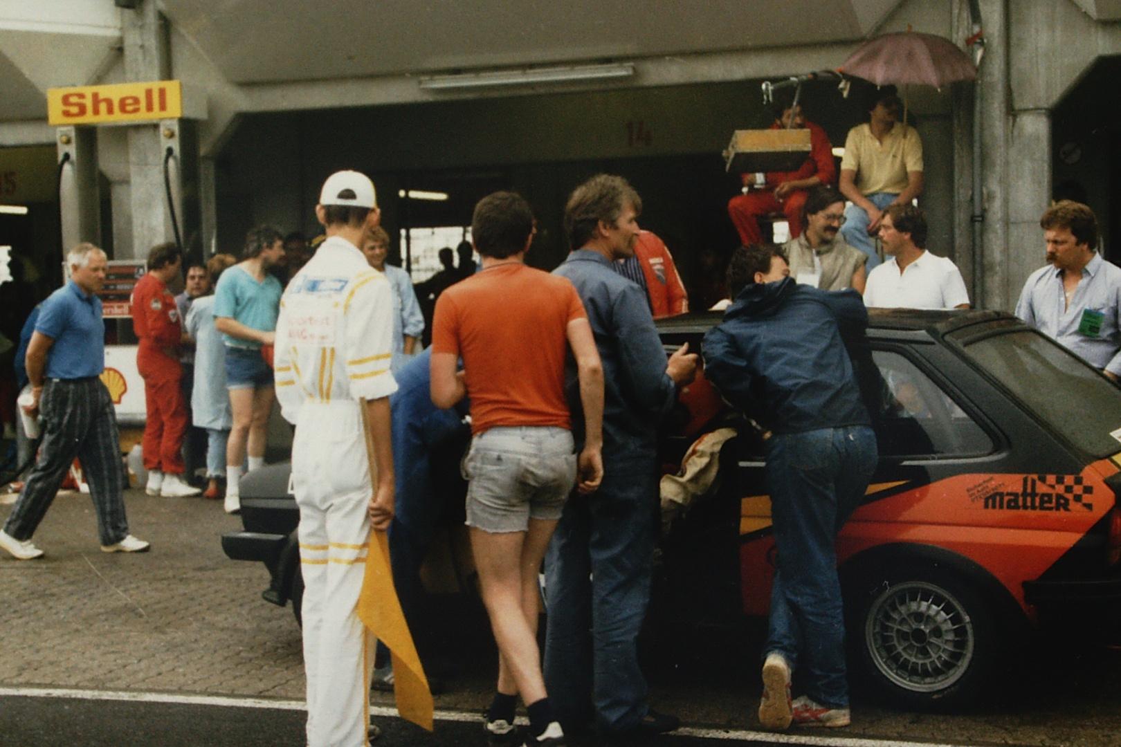 Boxenstopp 24h anno 1986...