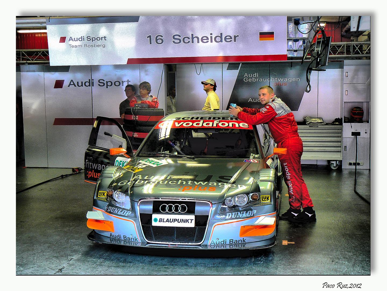 Boxes Audi DTM