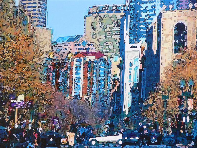 BOYLSTON STREET IN BOSTON