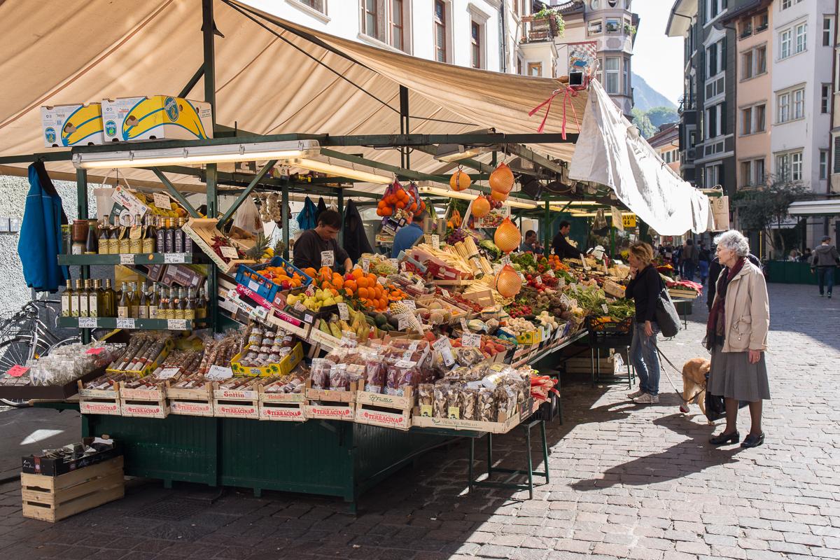 Bozen 5 Marktstände