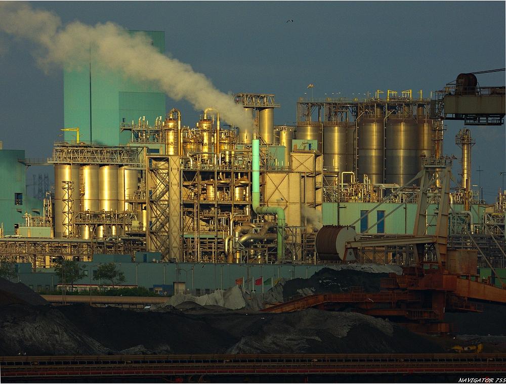 BP Raffinerie / Europoort.