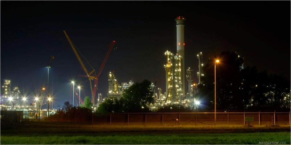 BP Raffinerie Europort / Rotterdam