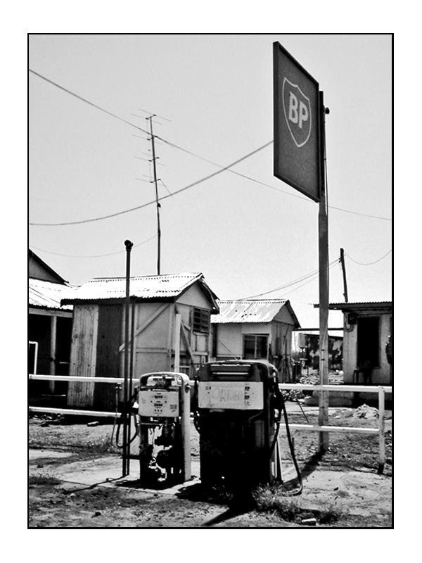 BP's neuste Tankstelle