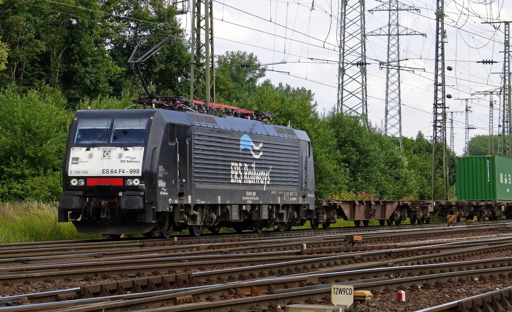 BR 189 099, ERS Railways