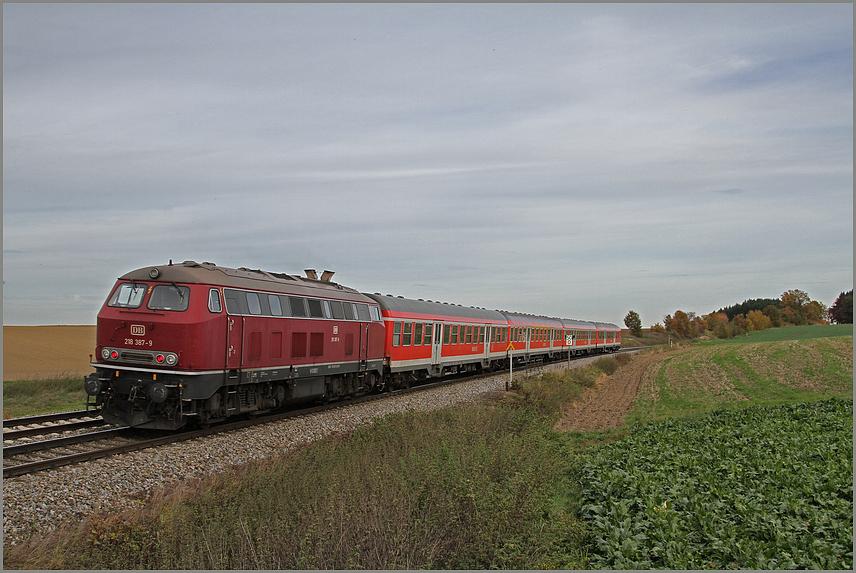 BR 218 387-9 Altrot MTU TB11....
