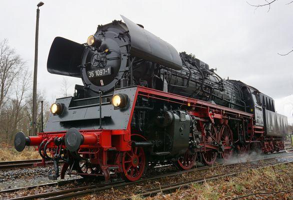 BR 35 1097 im Vogtland