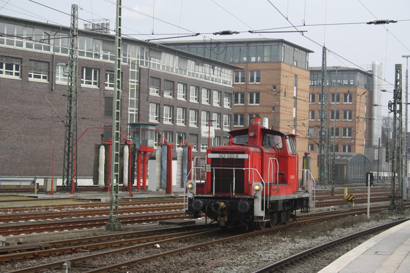 BR 362 223-9 Rangiert Im Bremen HBF am 29.0,1.2011